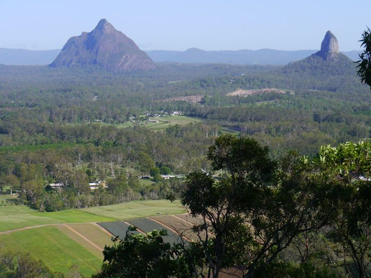 Aventures en Australie (mais pas que...): Les Glass House Mountains