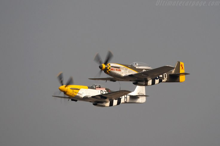 North American P51 Mustangs