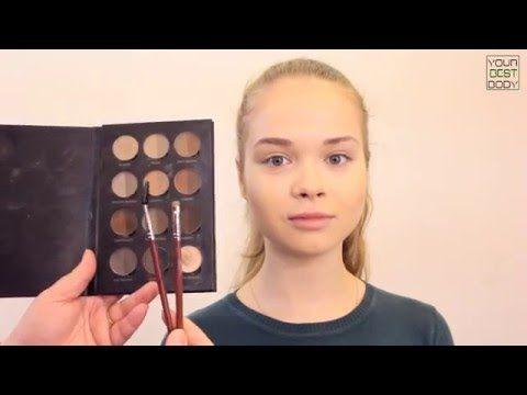 Как рисовать стрелки тенями | Уроки макияжа | Makeup Tutorial  | YourBestBlog - YouTube