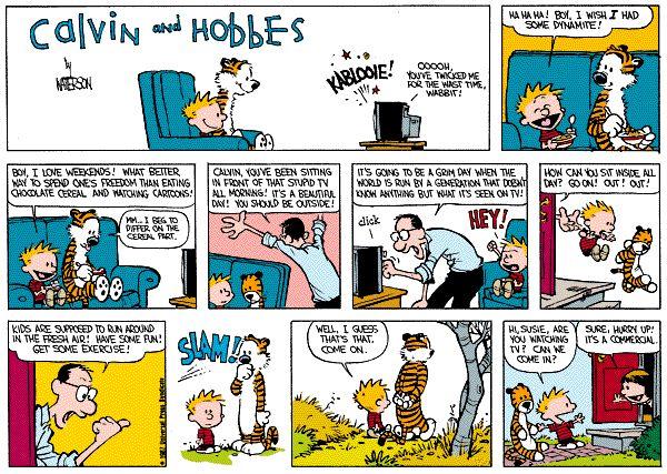 346 Best Calvin & Hobbes Images On Pinterest