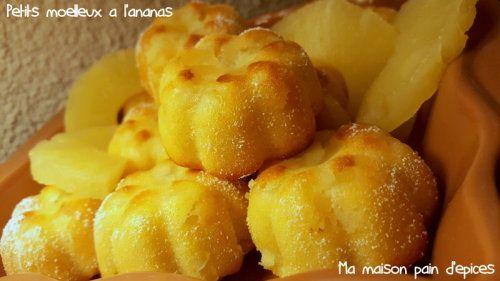 Petits moelleux à l'ananas