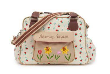 Prebaľovacia taška Pink Lining BLOOMING GORGEOUS - Tulipány