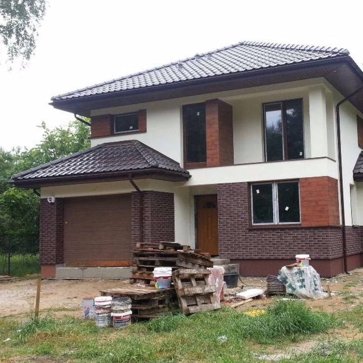na podstawie projektu #mgprojekt Zobacz inne realizacje domów z @MGProjekt na http://www.mgprojekt.com.pl/?utm_content=bufferb75f6&utm_medium=social&utm_source=pinterest.com&utm_campaign=buffer