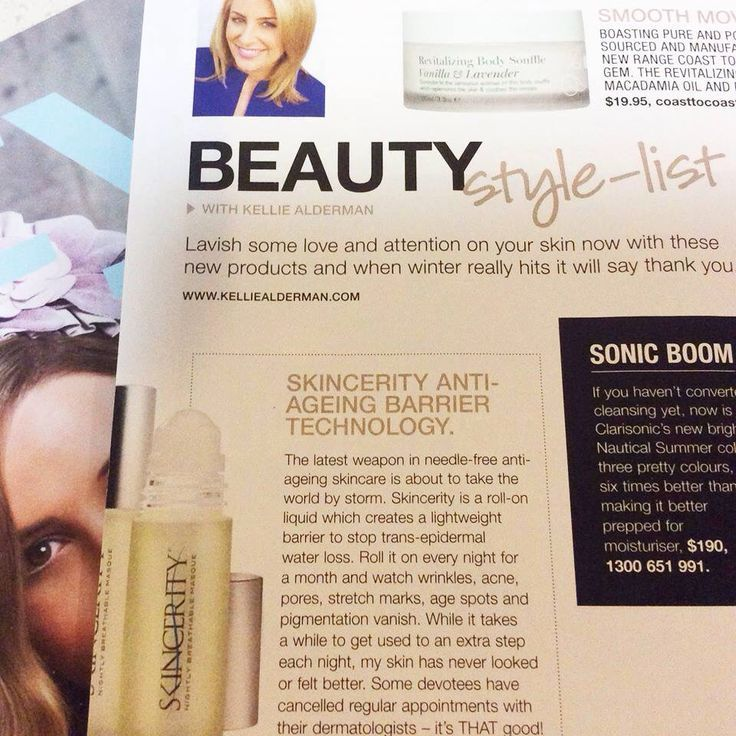 Great review from Beauty Style Magazine ..for more info go to https://au.buynucerity.com/marysumiga