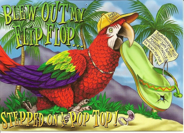 Oregon Gifts of Comfort and Joy: The Online Diary of a Central Oregon Grandmother: Jimmy Buffett Postcards and Lyrics to Frank and Lola,  Margaritaville and Fins