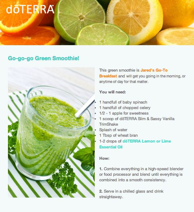 22 best essential oils in fooddrinks images on pinterest clean go go go green smoothie with doterra lime essential oil lime recipes essential oils forumfinder Gallery