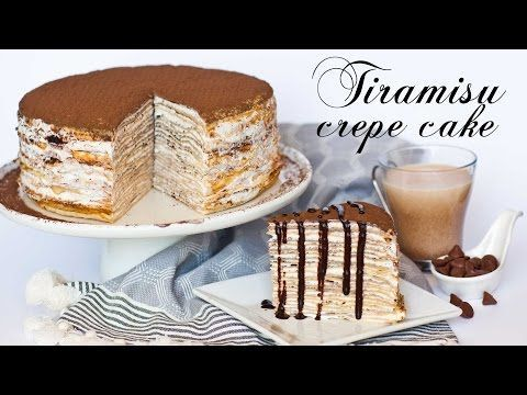 Tiramisu Crepe Cake - Tatyanas Everyday Food