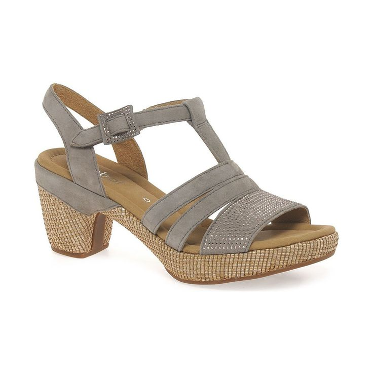 Sandals Gabor Sebring Womens Modern Sandals BEIGE