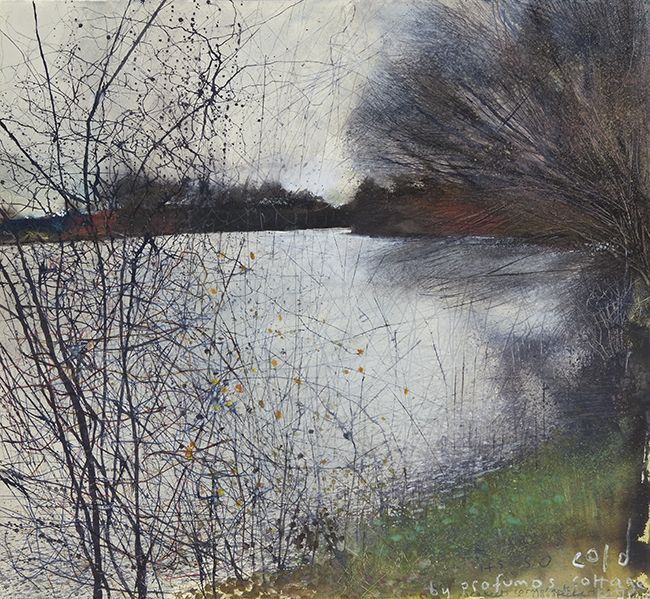 It`s so cold by Profumo`s cottage. December 2010 in KURT JACKSON from The Redfern Gallery