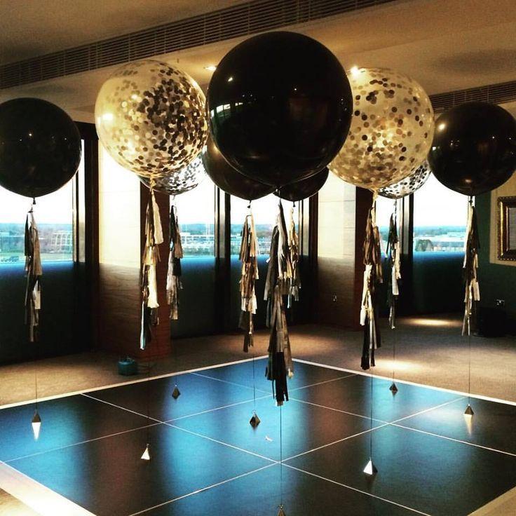Image Result For Cubez Gold Black Decor Balloons