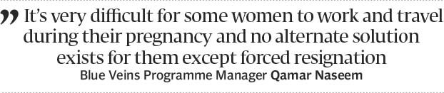 Discrimination: Women hired on contract not entitled to maternity leave - The Express Tribune