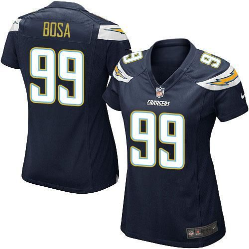 size 40 f3e1f 88738 elite joey bosa womens jersey san diego chargers 99 road ...