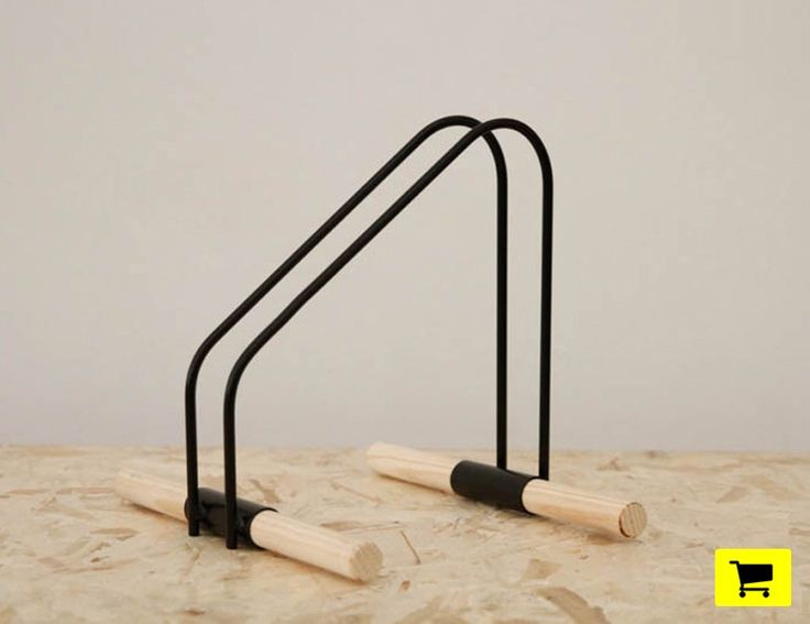 how to make your indoor bike storage stand