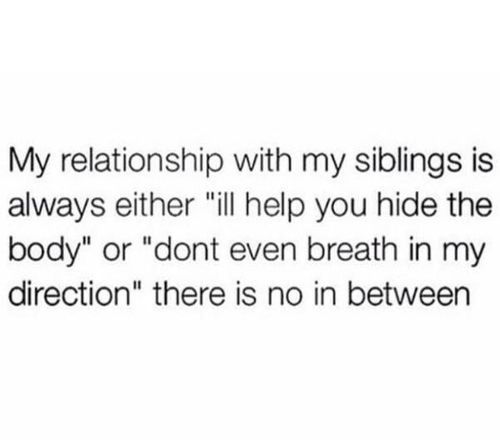 #GrowingUpWithSiblings THE ACCURACY