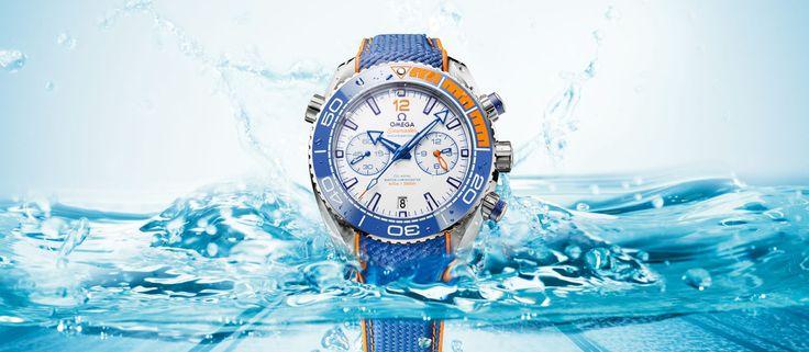 "Omega Seamaster Planet Ocean ""Michael Phelps"" [cena]"