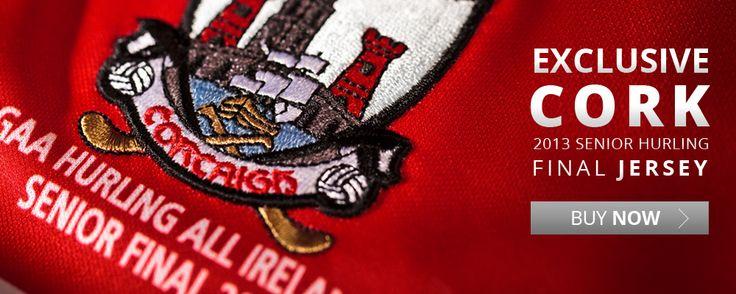 Cork Hurling Final Jersey #getinontheaction #gaa