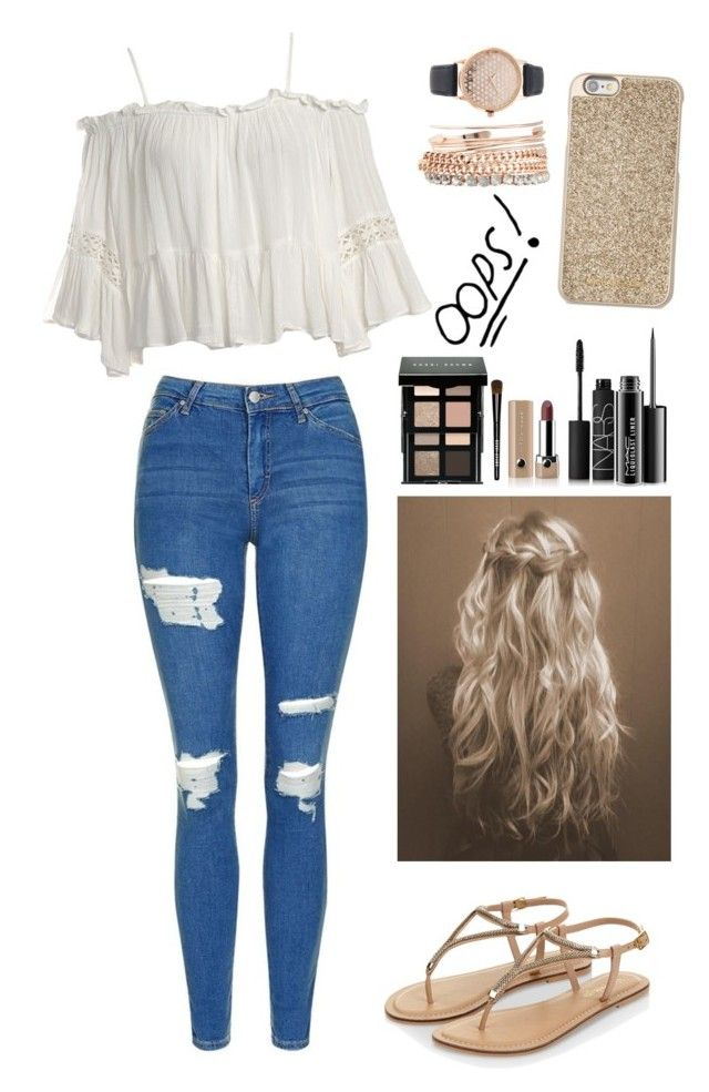 """""""Sin título #362"""" by ferlovespocito on Polyvore featuring moda, Sans Souci, Topshop, Accessorize, MAC Cosmetics, Bobbi Brown Cosmetics, NARS Cosmetics, Marc Jacobs, Jessica Carlyle y Michael Kors"""