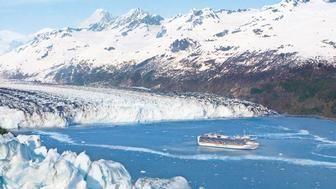 """@Princess Cruises Cruise Ship, Glacier Bay National Park; Avoya Travel Article: """"2013 Alaska Cruises – Don't Miss Out This Season"""""""