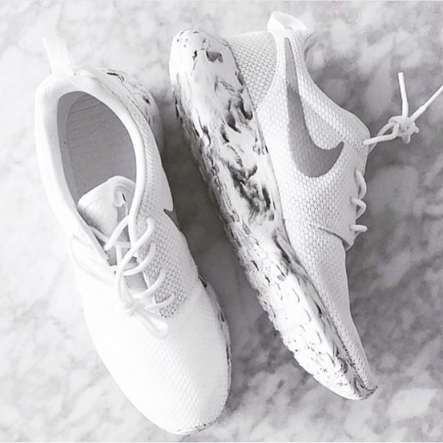 Normally I wouldn't go for shoes like this but omg the marble effect