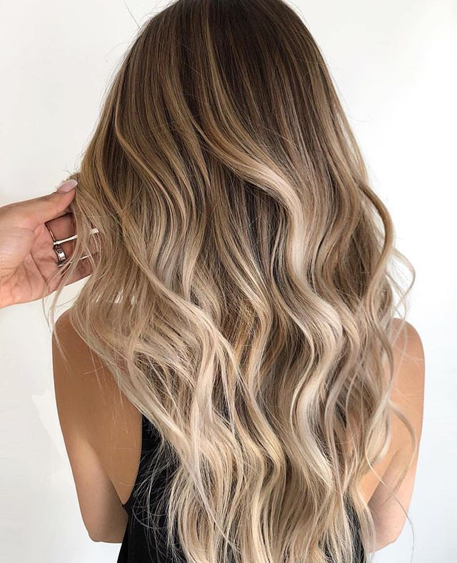 Hair Color Trends 2017 2018 Highlights Wunderschone Haarfarbe Haircolor Trend In 2020 Gorgeous Hair Color Blonde Balayage Brown Hair With Highlights