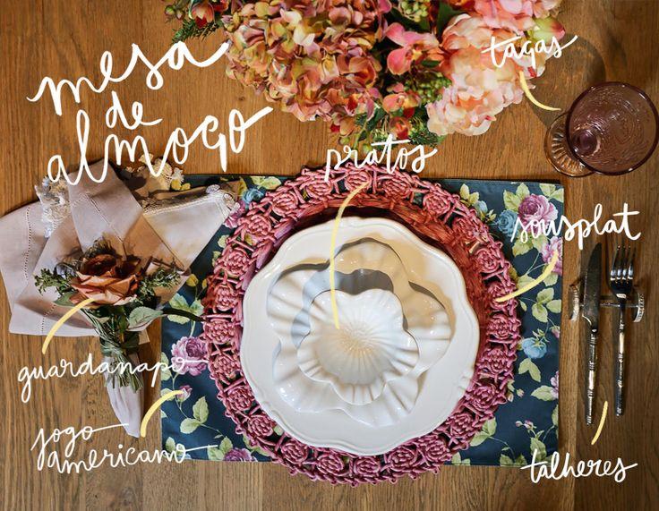 Blog OMG I'm Engaged - Como montar uma mesa de Almoço?
