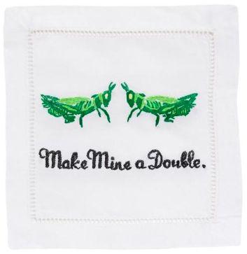 Make Mine a Double Grasshopper Cocktail Napkins