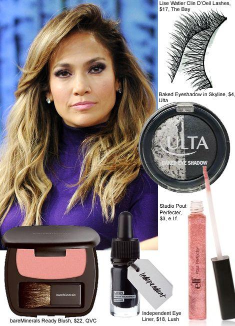 Jennifer Lopez makeup beauty good moring america copy