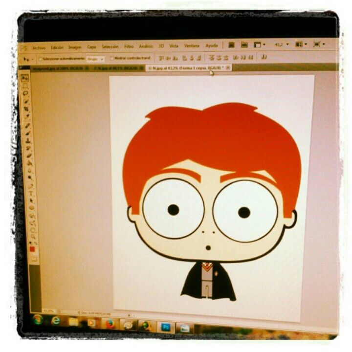 Ron en proceso...#illustration #ilustracion #cartoon #ilustración