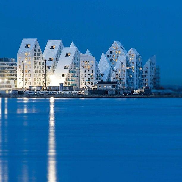 The Iceberg, Aarhus. Almost finished, November 2012. Architects: JDS Architects, Cebra
