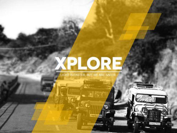 Xplore Magazine PowerPoint by AWSM Designs on Creative Market