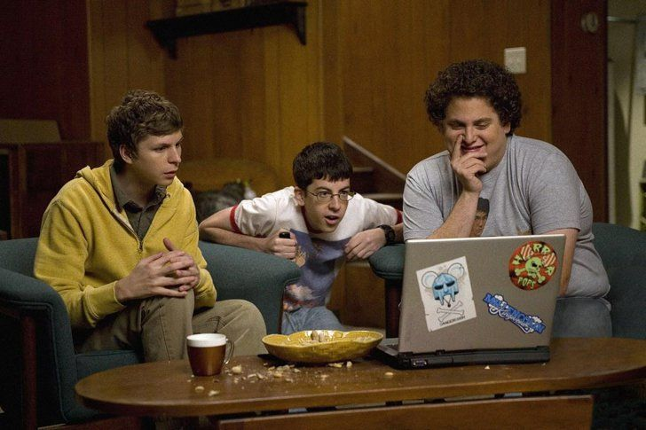 Pin for Later: All the Movies That James Franco and Seth Rogen's Friends Have Starred in Together Superbad (2007)