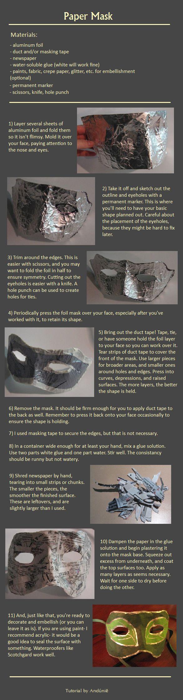 Mask Tutorial by Andunie on deviantART