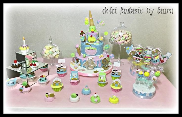 Candy cake sweet table
