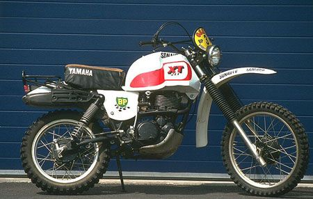 1979 XT500 Paris Dakar