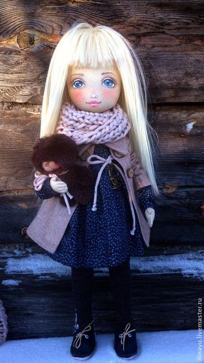 Fabric doll Коллекционные куклы ручной работы. Ярмарка Мастеров - ручная работа Леся. Handmade.