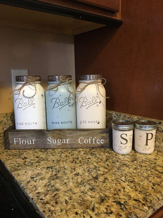 Kitchen Jar Decoration Более 25 Лучших Идей На Тему «Half Gallon Mason Jars» На Pinterest
