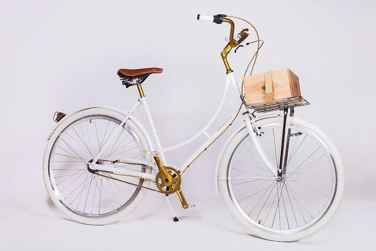 Moonlight White Queen | Rowery miejskie Bikes Bazaar