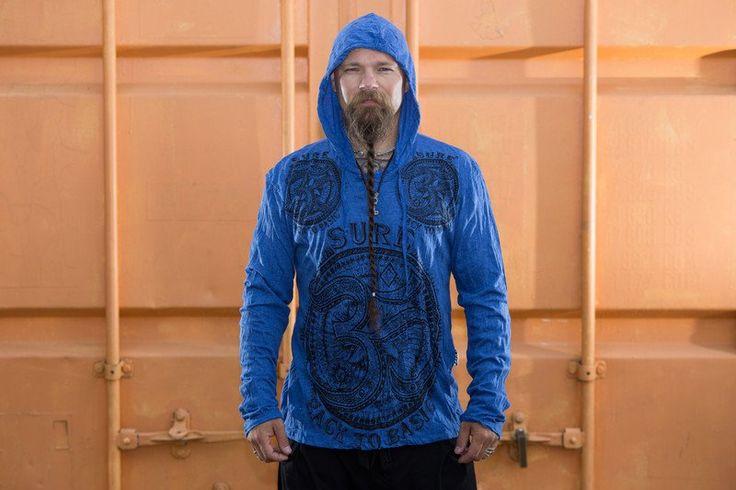 Bluza Om - SansaraShop - Bluzy z kapturem
