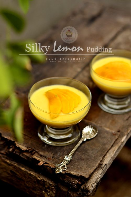 Momylicious...: Request Post: Silky Lemon Pudding