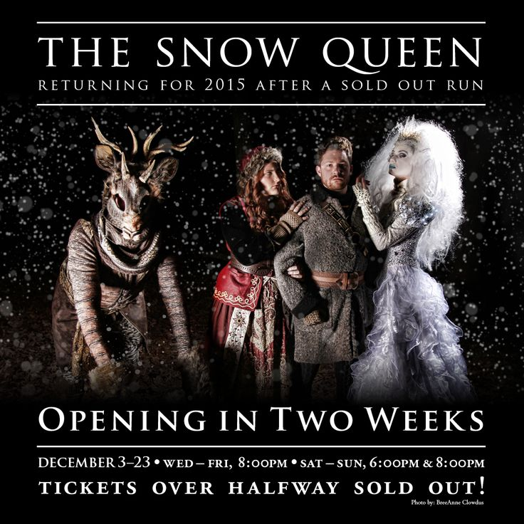 THE SNOW QUEEN is back with a vengeance & already sold over half of all her