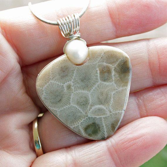 Petoskey Stone Petoskey Stone Jewelry Petoskey Stone