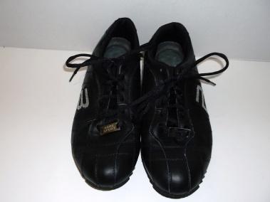 BEBE BLACK RUNNING SNEAKER TENNNIS WALKING SHOE EMBELLISHED WITH RHINESTONES $69.99