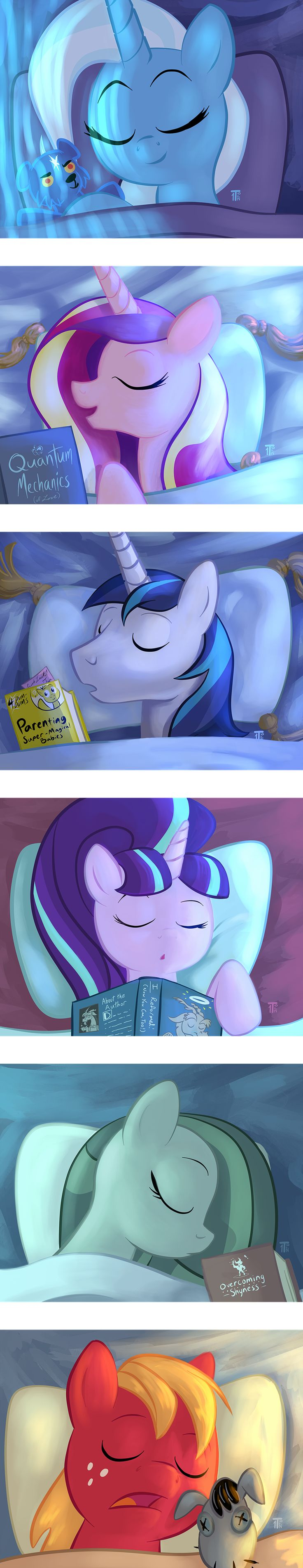 Shhh, Don't Disturb the Sleeping Horsies