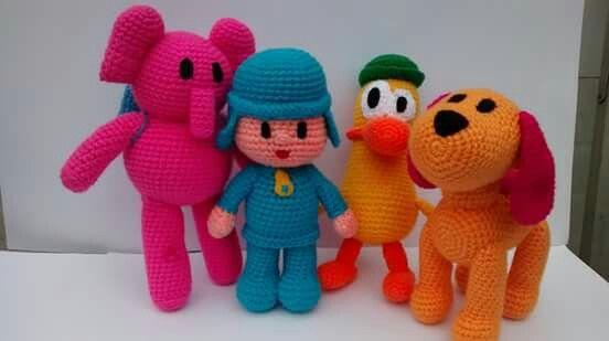 Pocoyo y sus amigos amigurimis