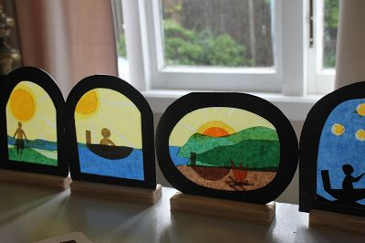the elves and the wood botherer: Matariki Crafting - Workshop prep. Transparencies