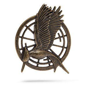 ThinkGeek :: The Hunger Games Mockingjay Pin