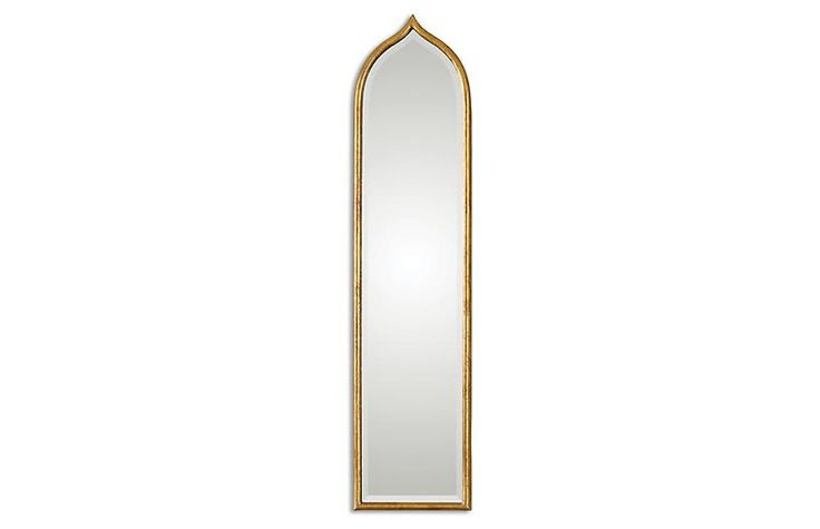 Fedala Oversize Wall Mirror, Gold Leaf - Wall Mirrors - Mirrors - Art & Mirrors | One Kings Lane
