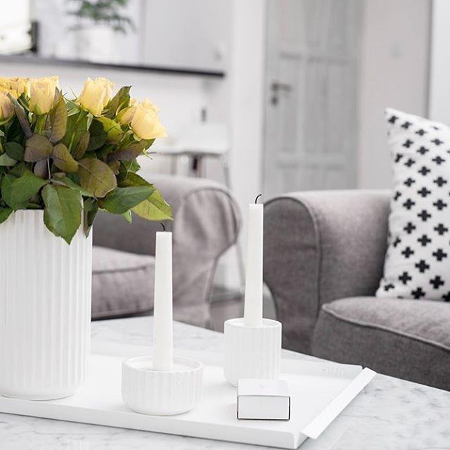 Lyngby wazon taca @nur_design  poszewka w plusiki - House Shop
