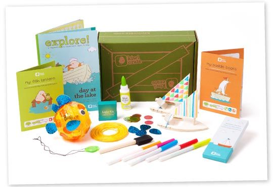Kiwi Crate - new project delivered every month to promote inquiry based learning! Awesome and affordable!!