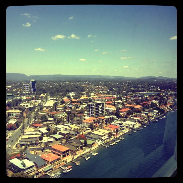 Chevron Island (my home) - Gold Coast QLD